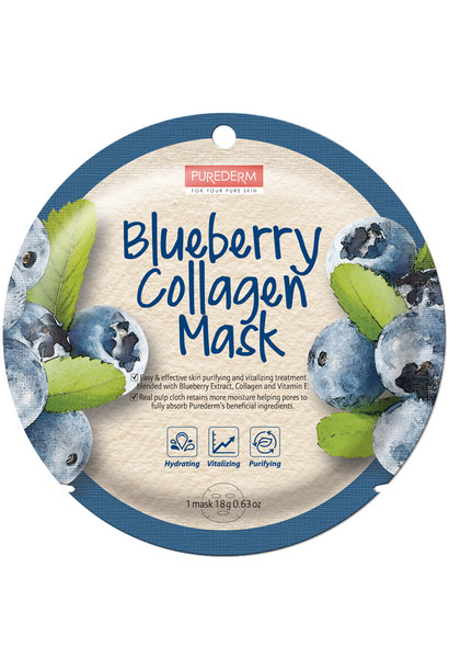 Circle Mask - Blueberry Collagen