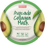 PUREDERM Circle Mask - Avocado Collagen