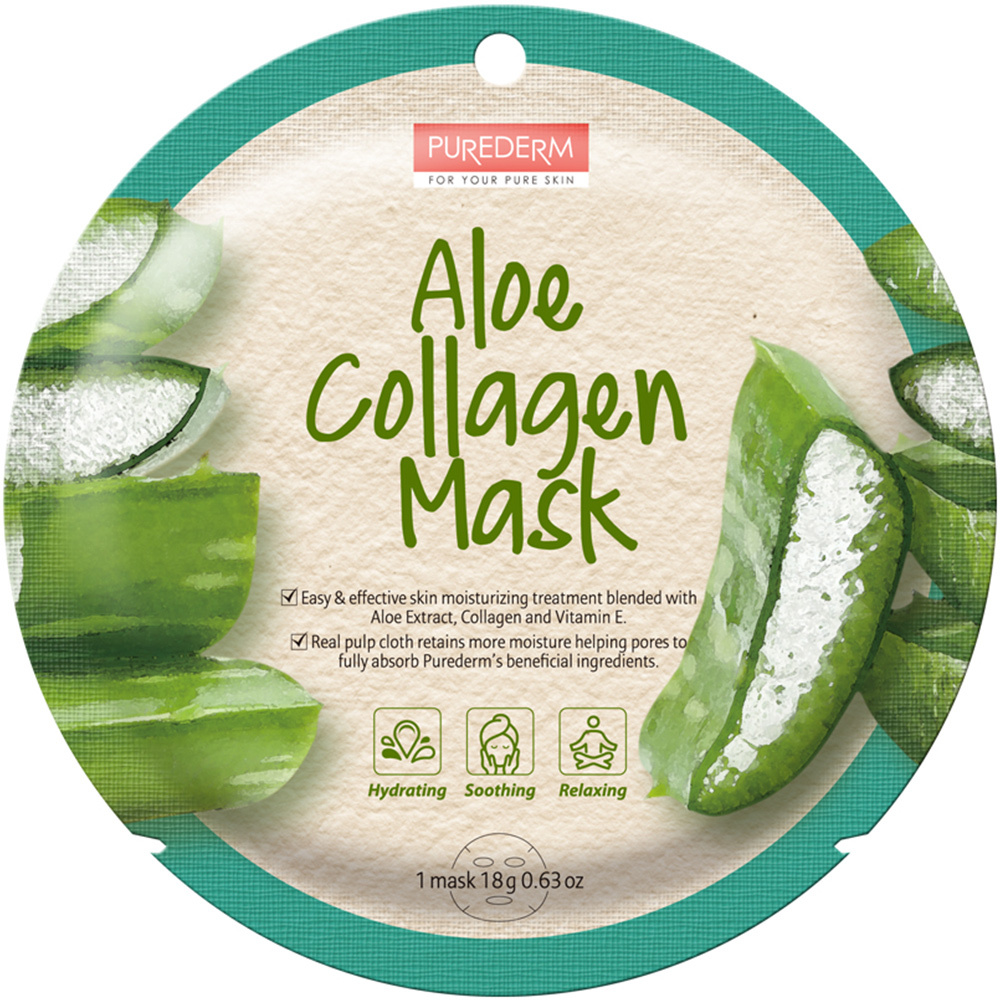 Circle Mask - Aloe Collagen-1