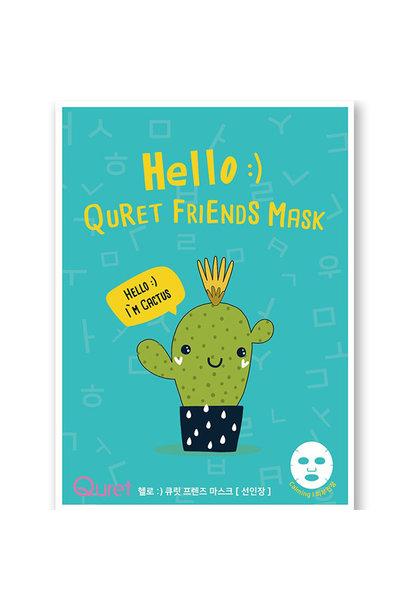 Friends Mask #Cactus