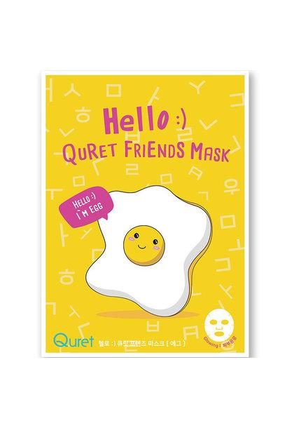 Friends Mask #Egg