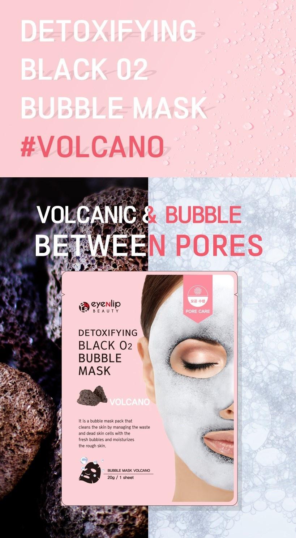 Detoxifying Black O2 Bubble Mask #Volcano-2