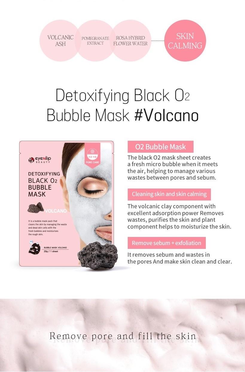 Detoxifying Black O2 Bubble Mask #Volcano-3