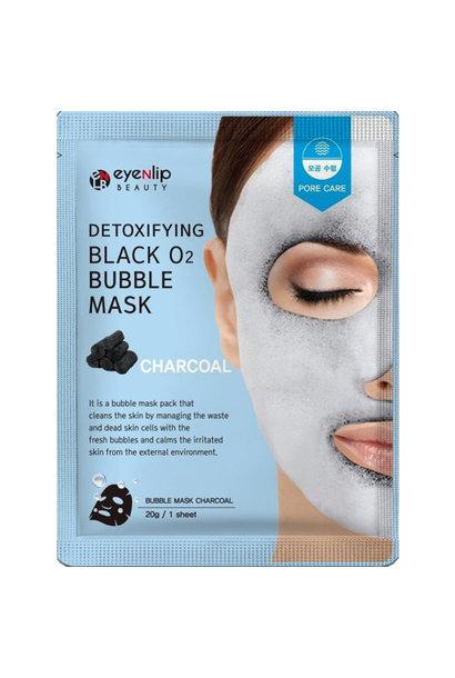 Black Bubble Mask #Charcoal
