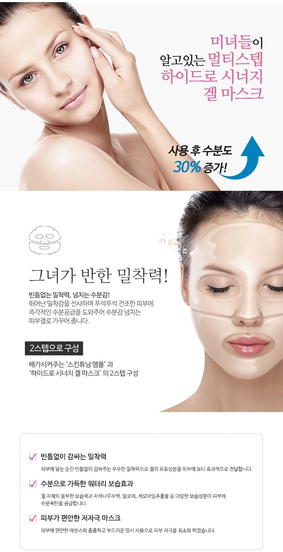 Multi Step Hydro Synergy Gel Mask-4