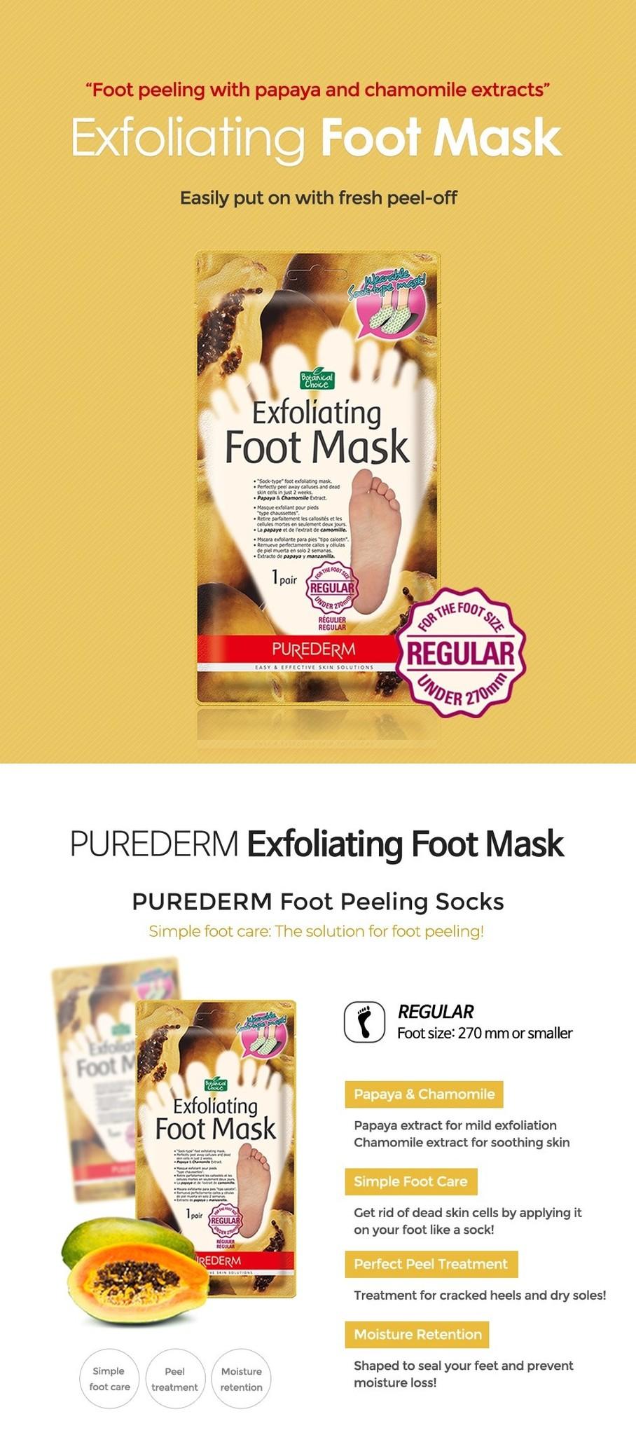 Exfoliating Foot Mask (Regular)-2