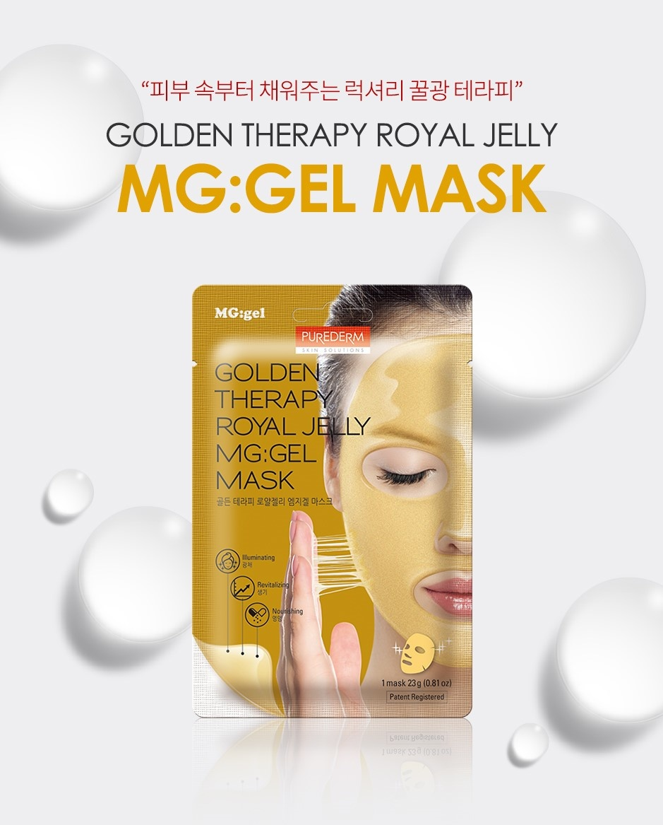 Golden Therapy Royal Jelly MG:Gel Mask-2