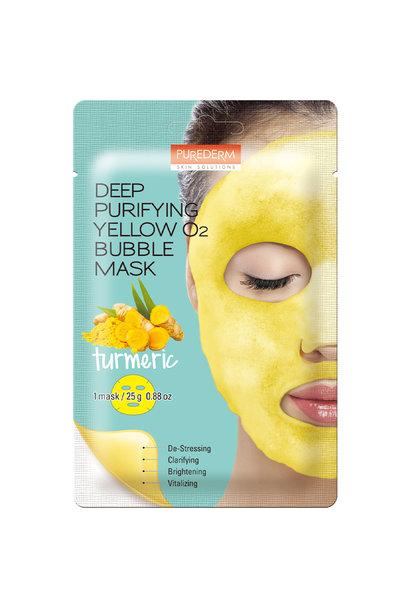 Deep Purifying Yellow O2 Bubble Mask (Kurkuma)