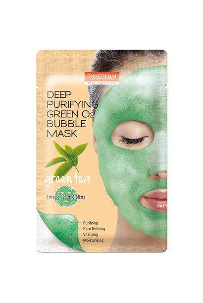 Deep Purifying Green O2 Bubble Mask (Green Tea)