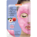 PUREDERM Deep Purifying Pink O2 Bubble Mask (Peach)