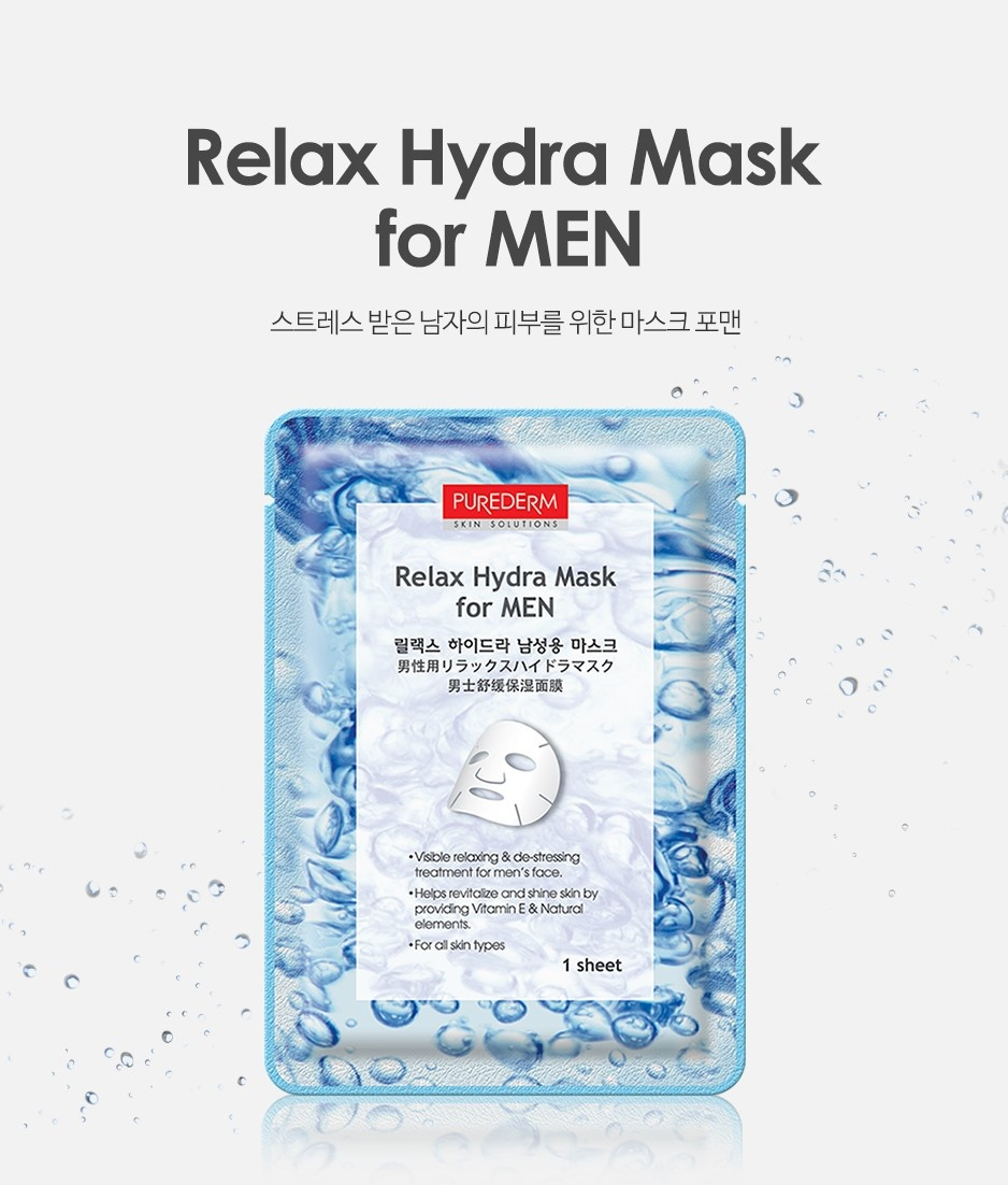 Relax Hydra Mask for Men-2
