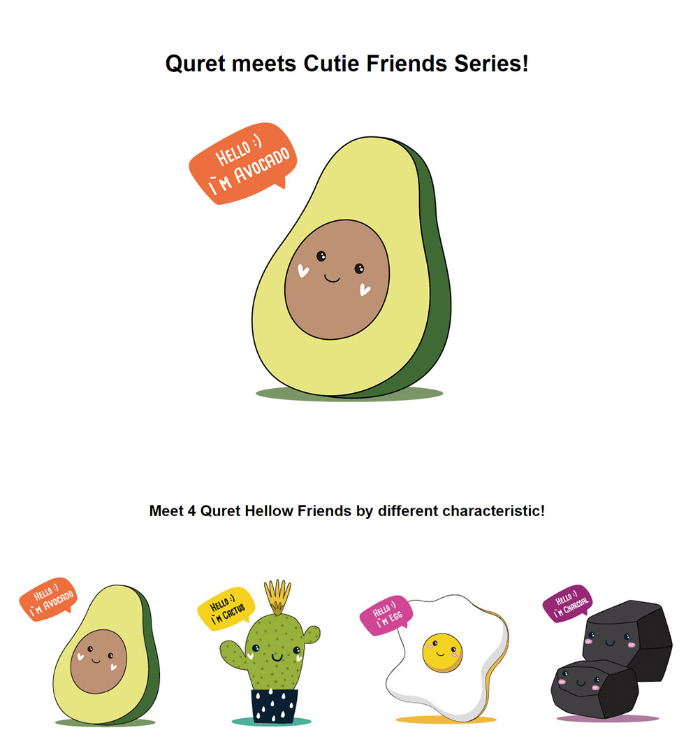 Friends Mask #Avocado-2