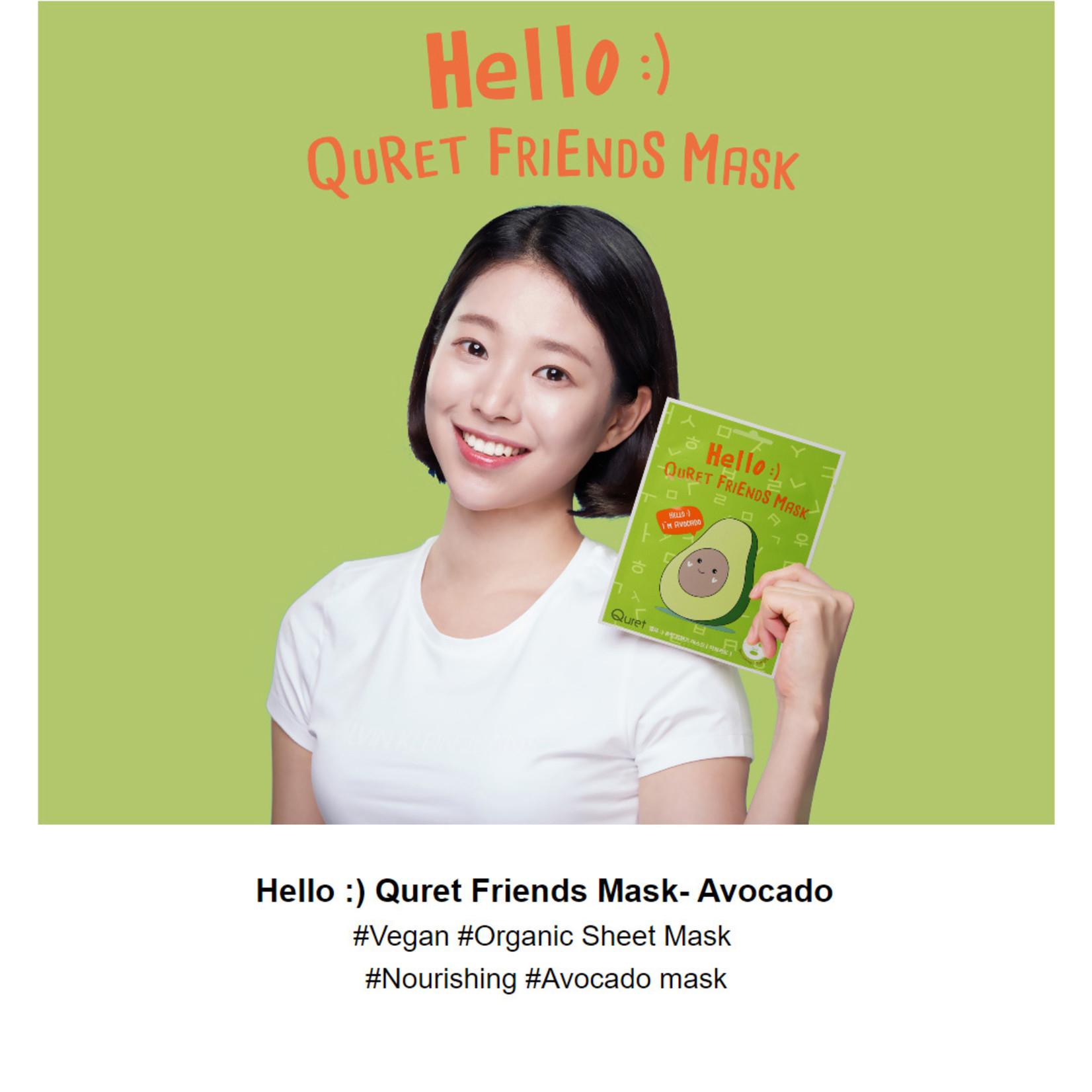 QURET Friends Mask #Avocado