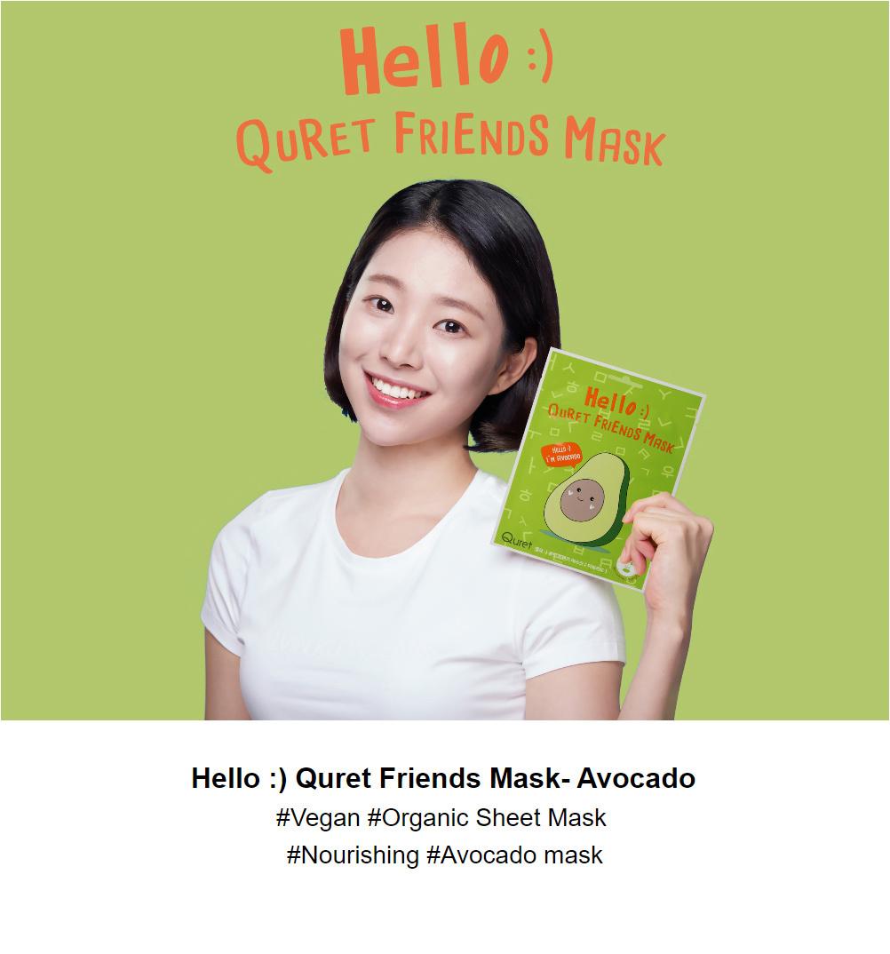 Friends Mask #Avocado-3