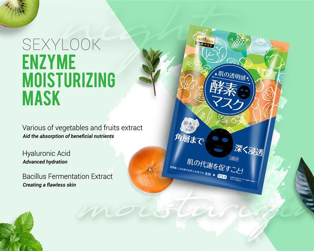 Enzyme Facial Mask Trial Mix (6 pcs)-8
