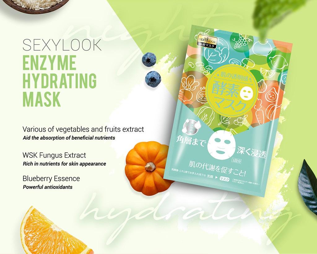 Enzyme Facial Mask Trial Mix (6 pcs)-10
