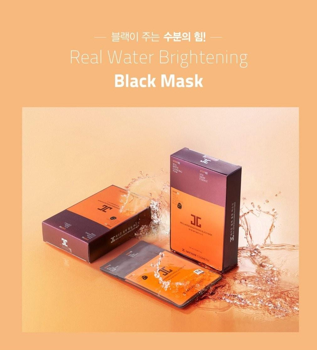 Real Water Brightening Black Mask-2