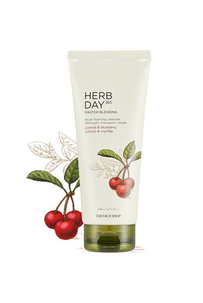 Herb Day 365 Cleansing Foam - Acerola&Blueberry