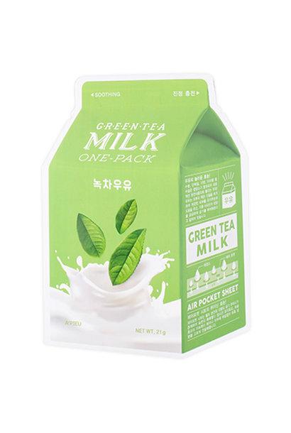 Milk One Pack #Greentea Milk