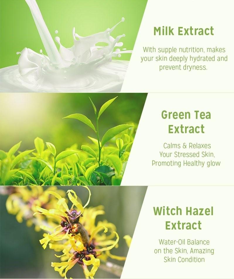 Milk One Pack #Greentea Milk-4