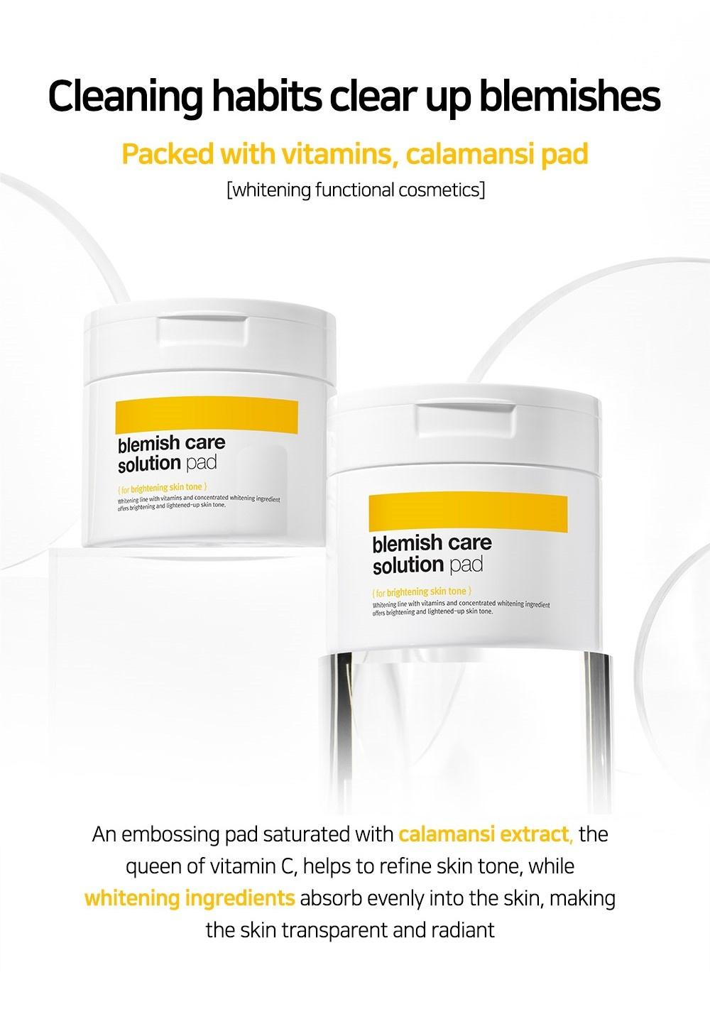 Blemish Care Solution Calamansi Pad-2