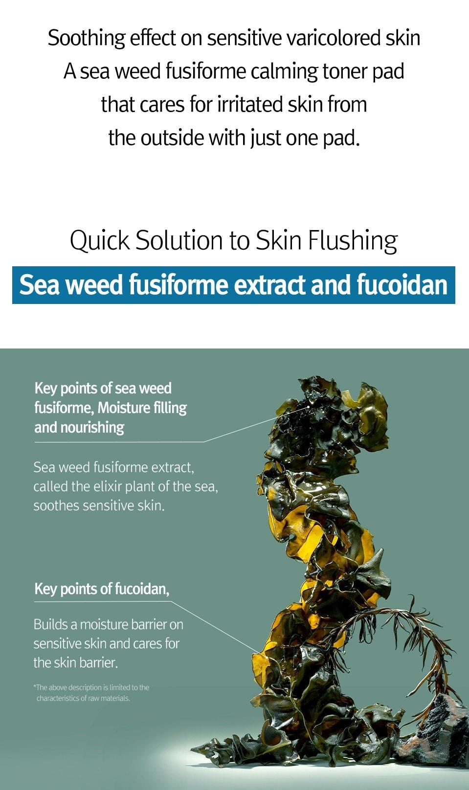 Sensitive Care Solution Seaweed Pad-4