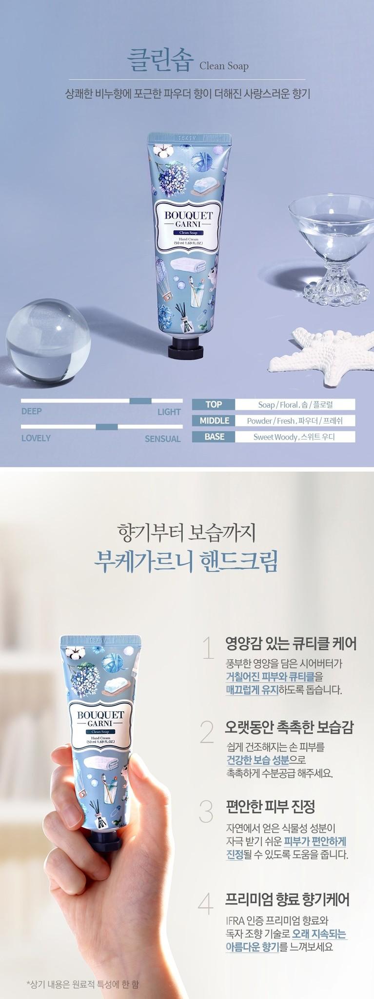 Fragranced Hand Cream (Clean Soap)-3