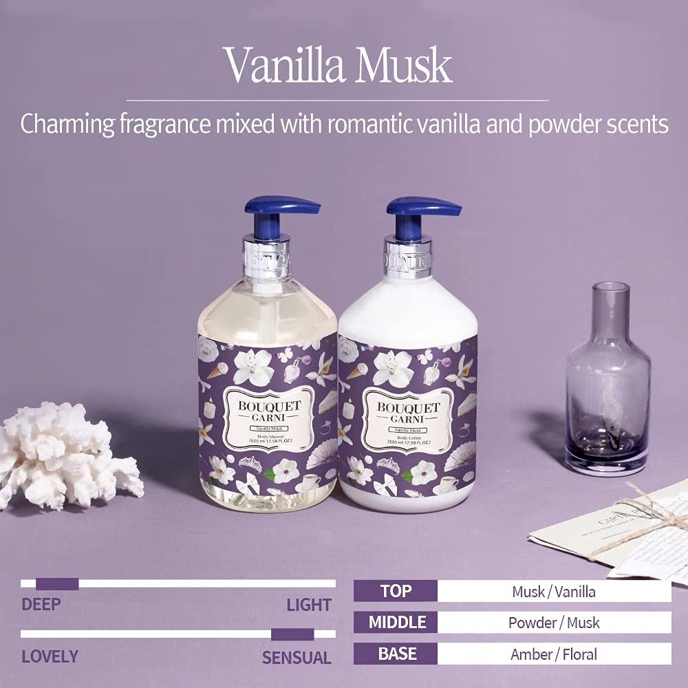 Fragranced Body Lotion (Vanilla Musk)-3