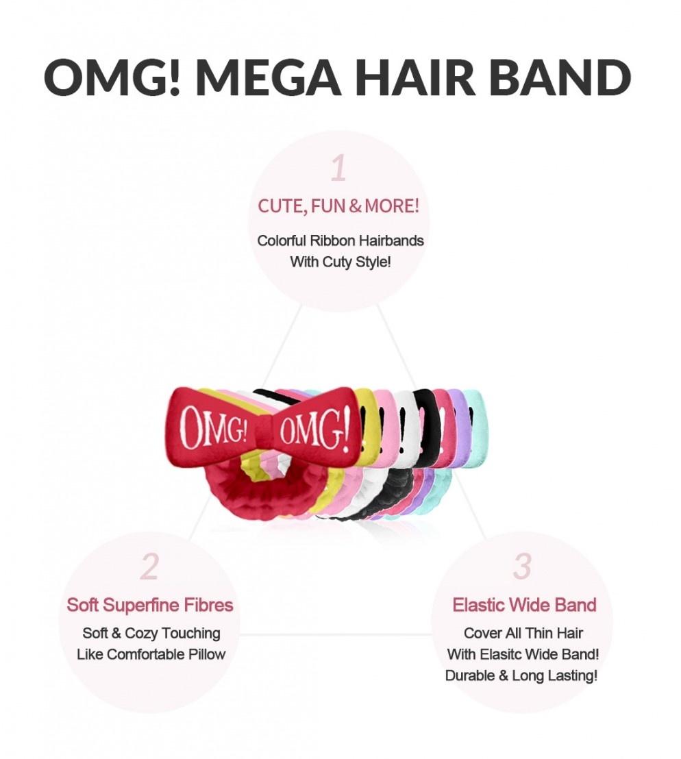 OMG! Hair Band (Light Pink)-4