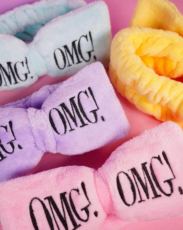 OMG! Hair Band (Light Pink)-2