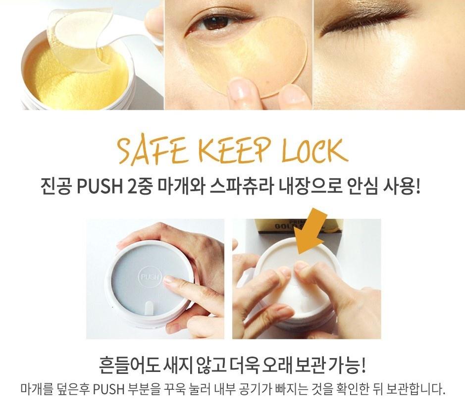Prime Gold Snail Eye Patch-5