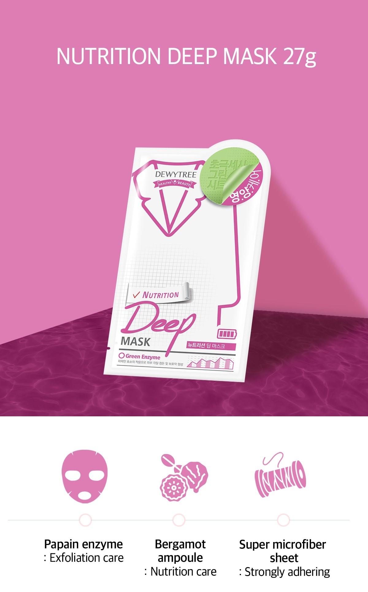 NUTRITION DEEP Sheet Mask-3