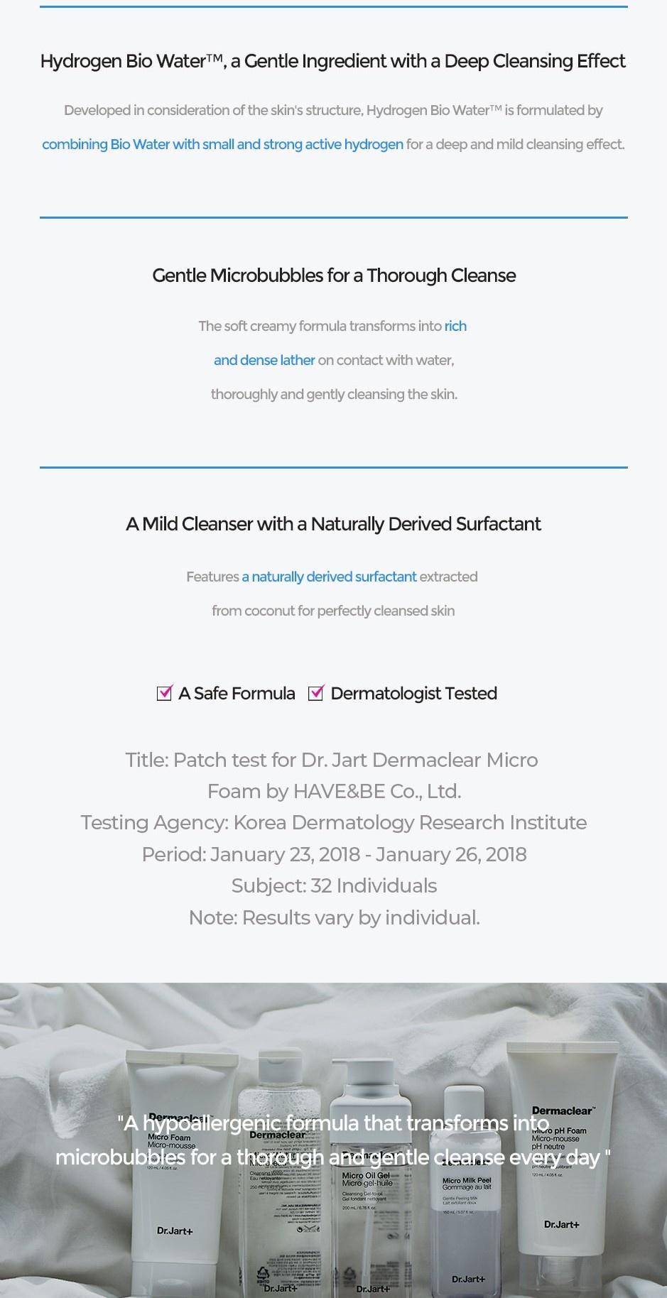 Dermaclear Micro Foam Reinigungsschaum-3