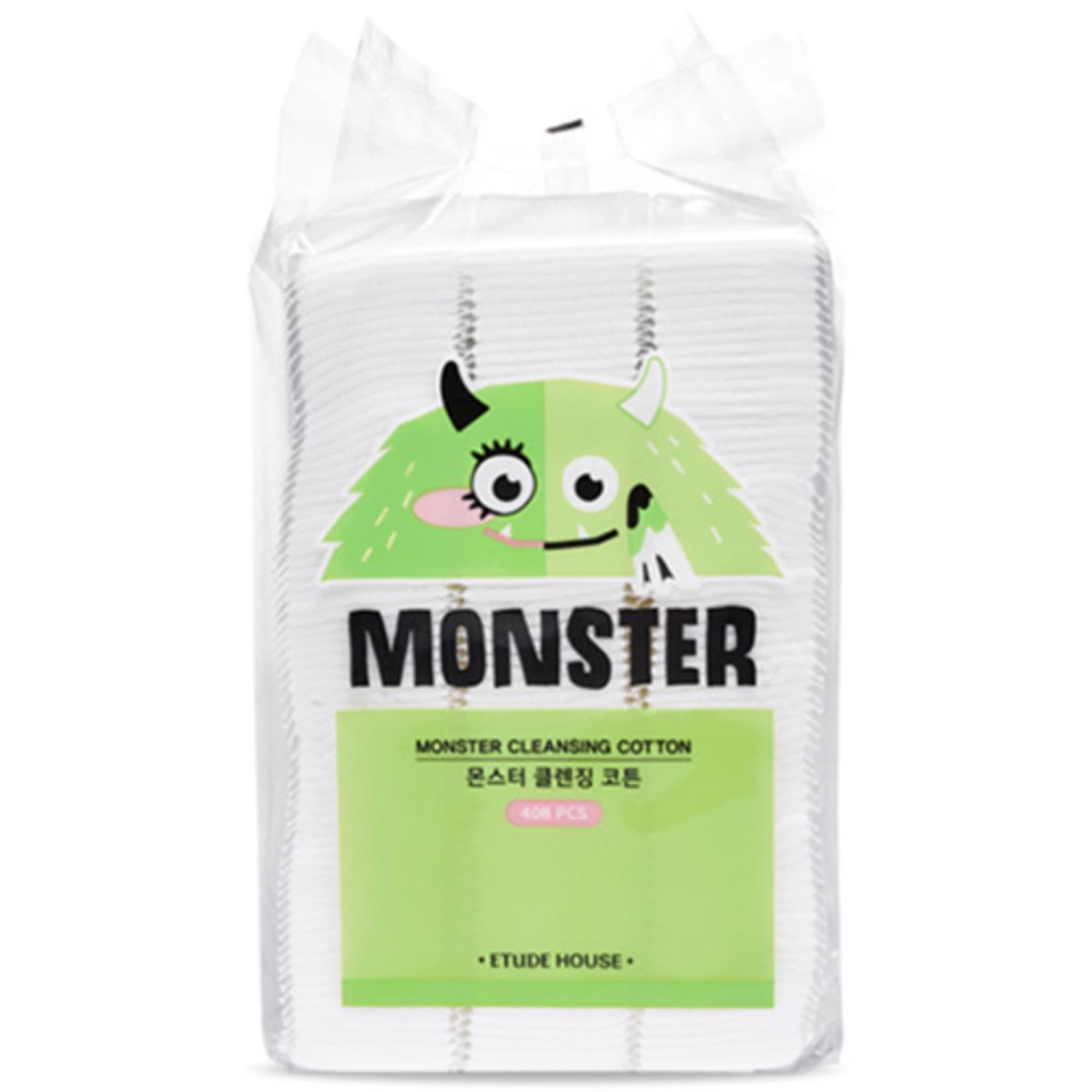 Etude House Monster Cleansing Cotton  (408 Stück)