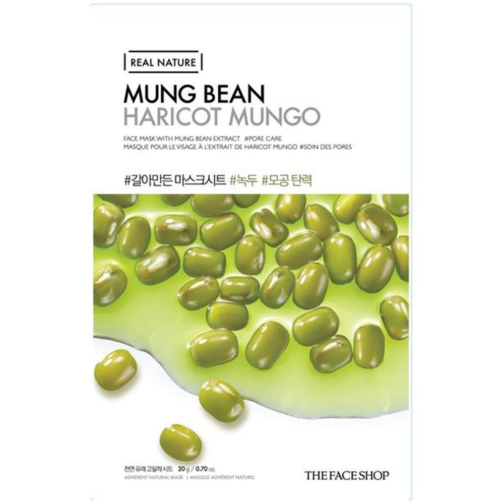 Real Nature Sheet Mask Mung Bean-1
