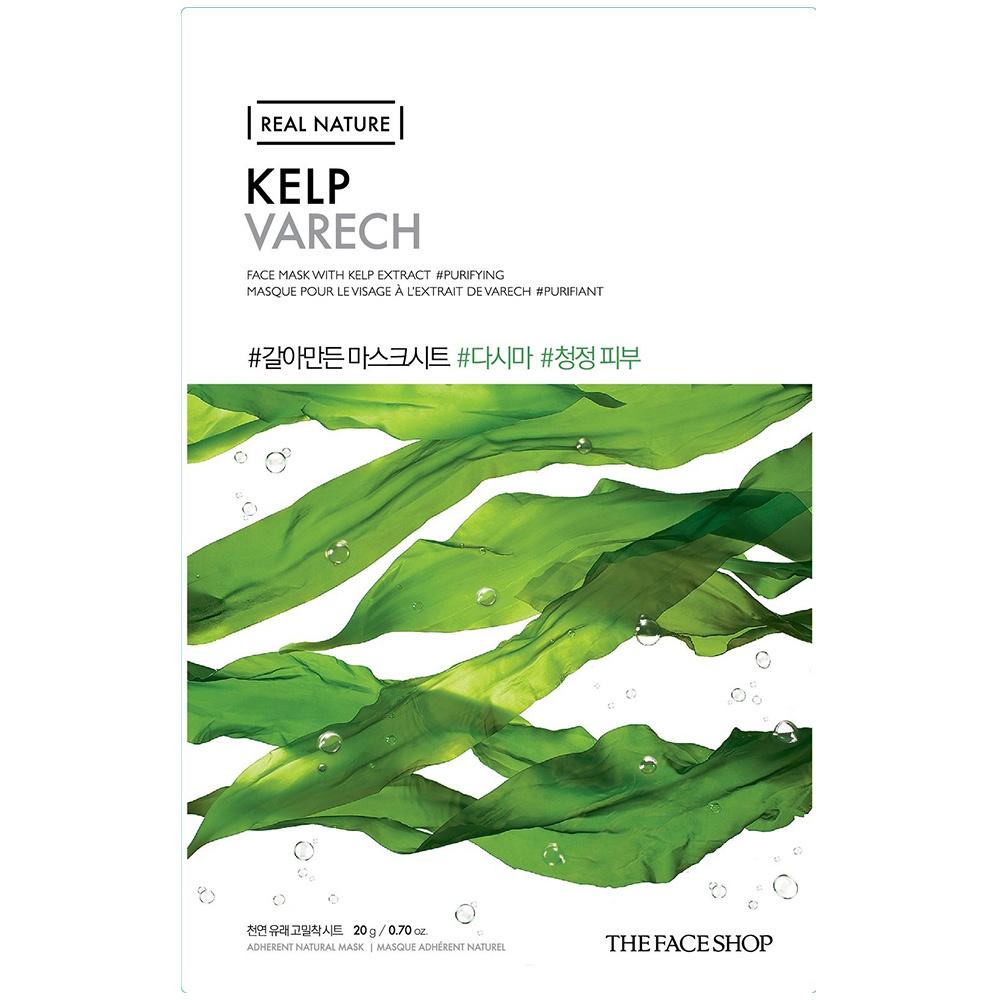 Real Nature Sheet Mask Kelp-1