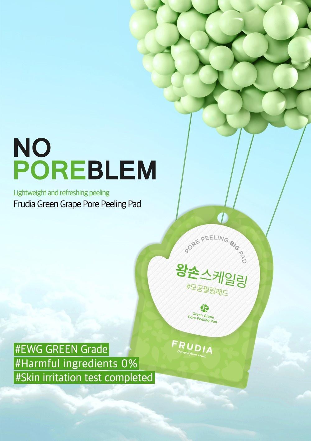 Green Grape Pore Peeling Pad-2
