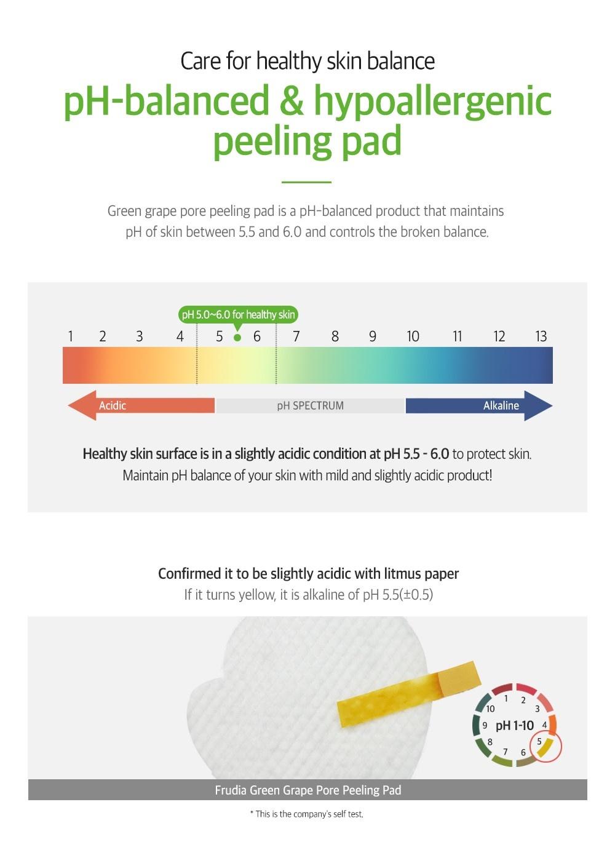 Green Grape Pore Peeling Pad-4