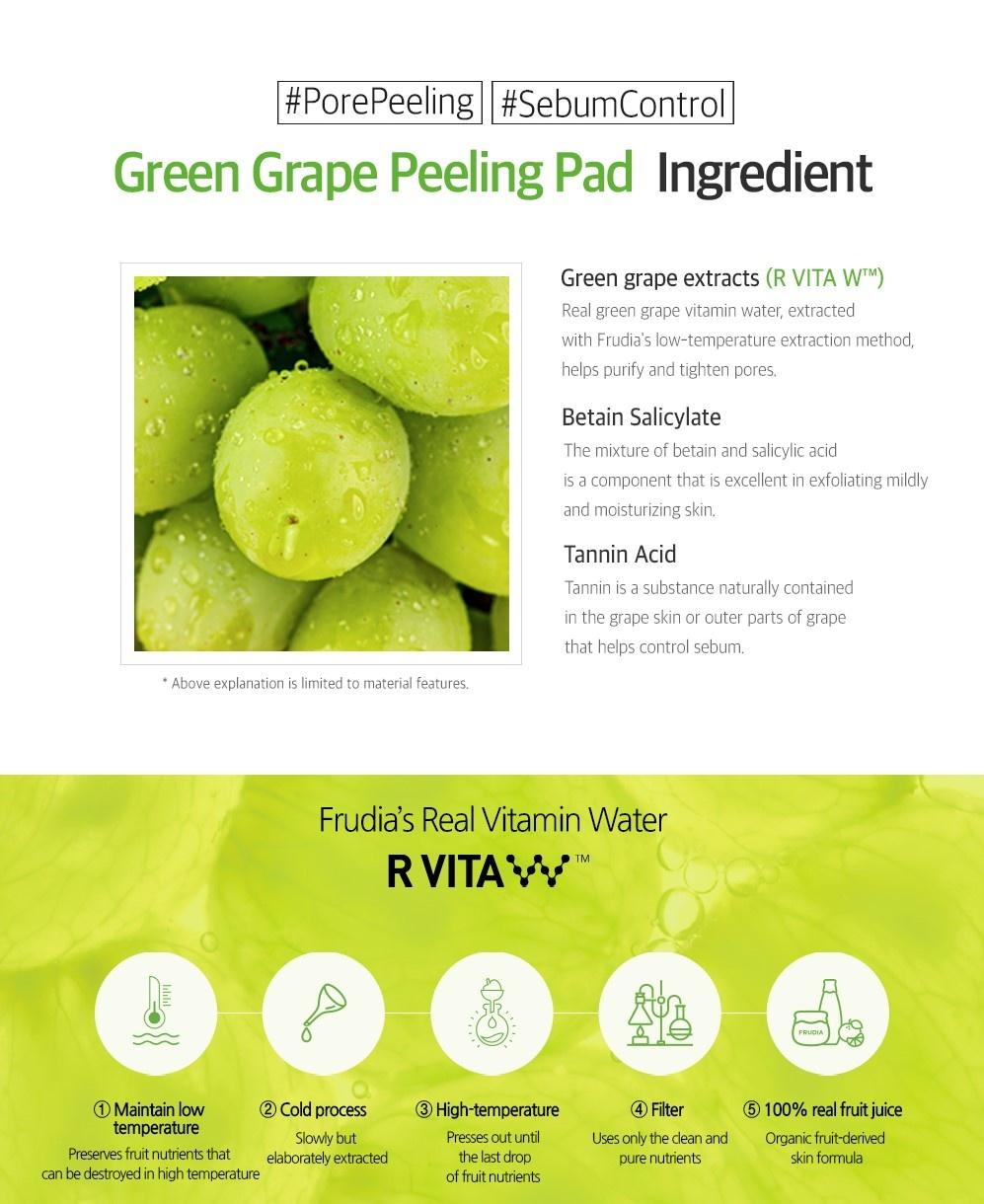 Green Grape Pore Peeling Pad-7