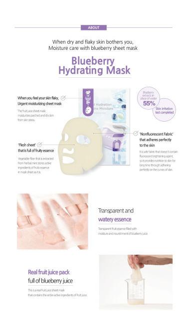 Blueberry Hydrating Tuchmaske-5