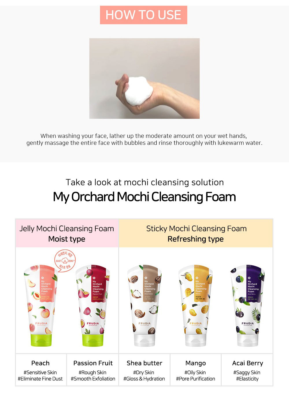 My Orchard Cleansing Foam #Peach-7