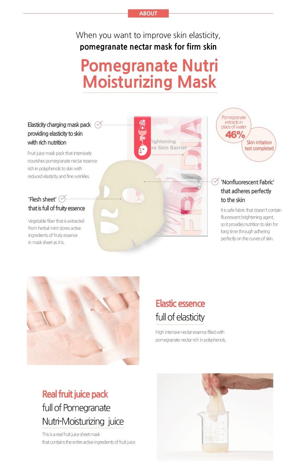 Pomegranate Nutri-Moisturizing Sheet Mask-3