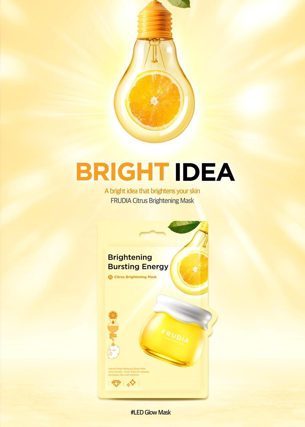 Citrus Brightening Tuchmaske-2