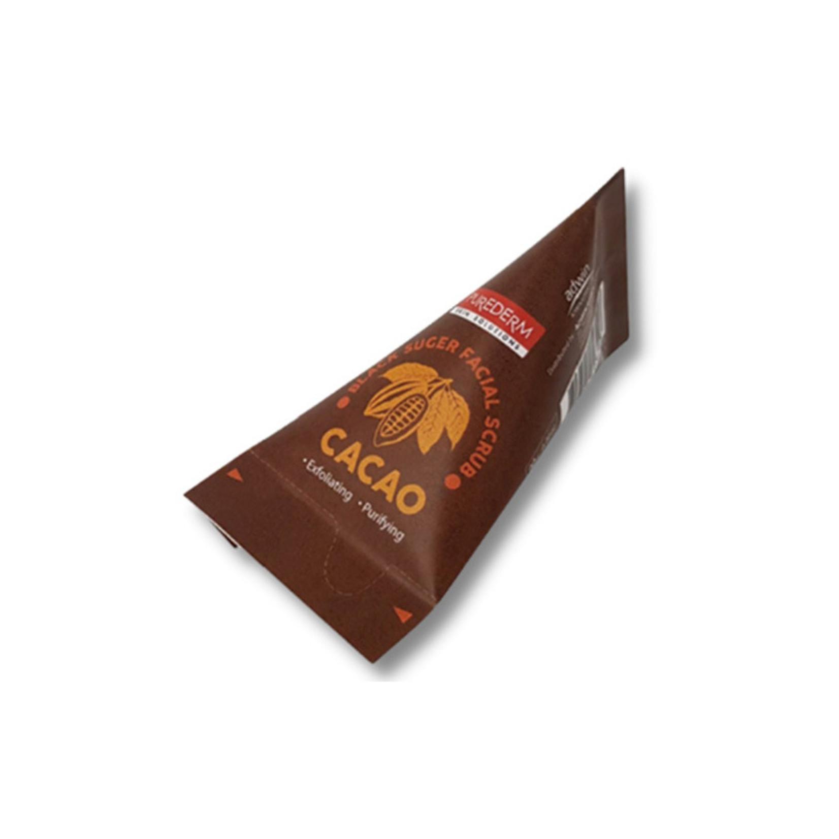 PUREDERM Facial Scrub #Cacao