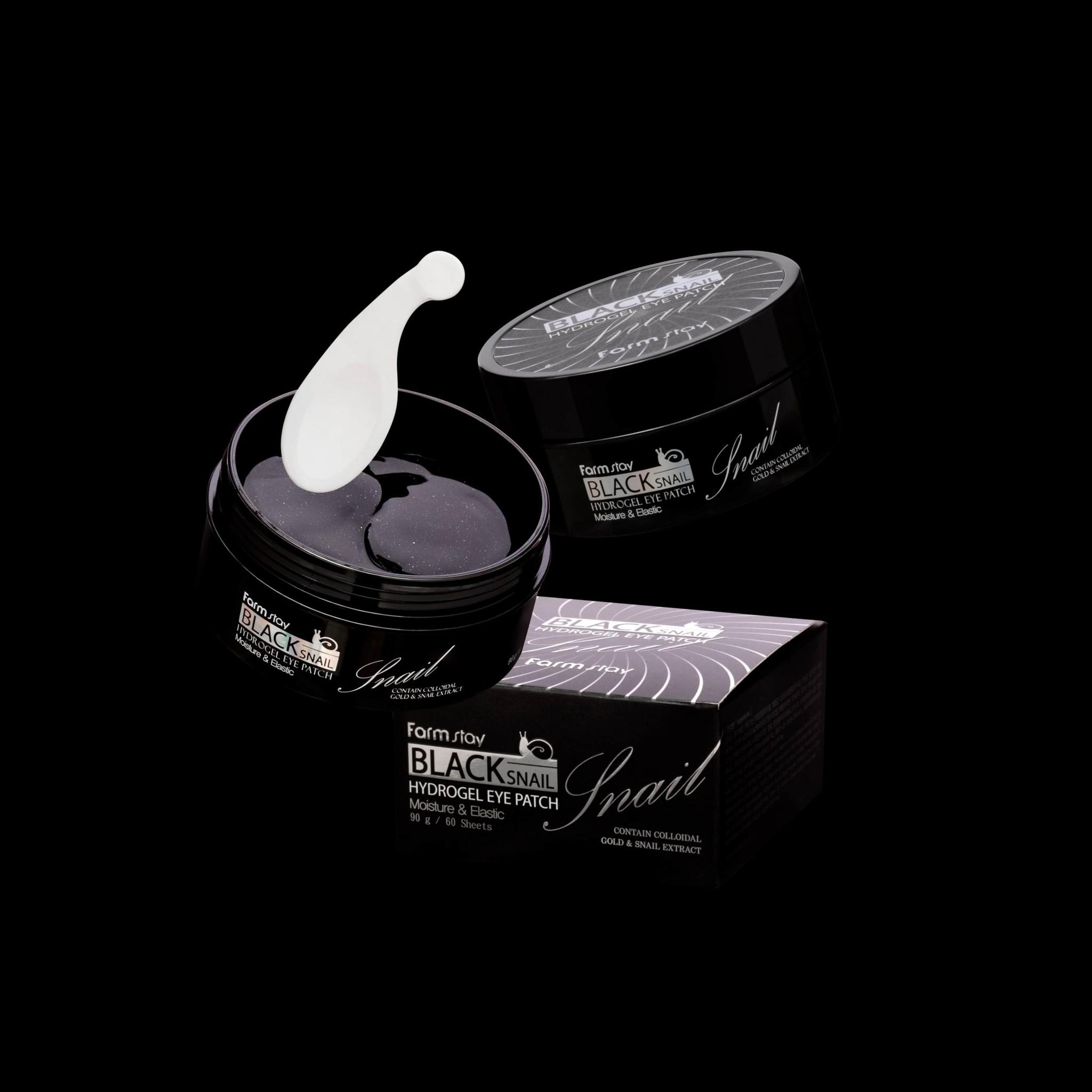 Black Snail Hydrogel Eye Patch-3