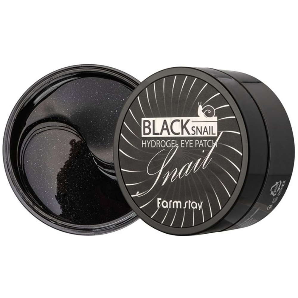 Black Snail Hydrogel Eye Patch-1