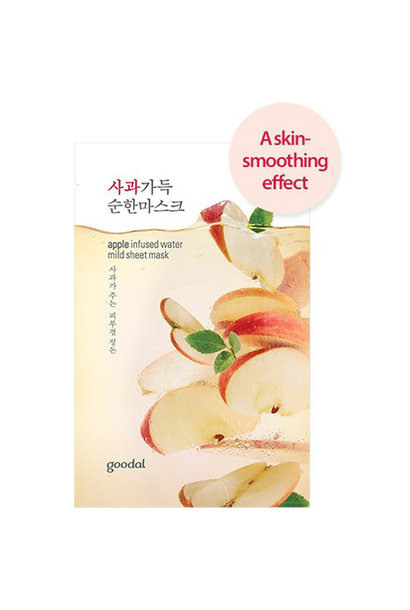 apple infused sheet mask