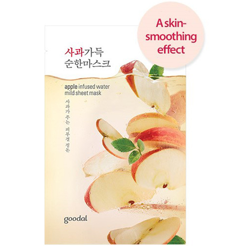 apple infused water mild sheet mask-1