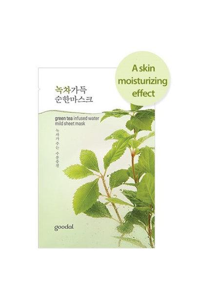 greentea infused sheet mask