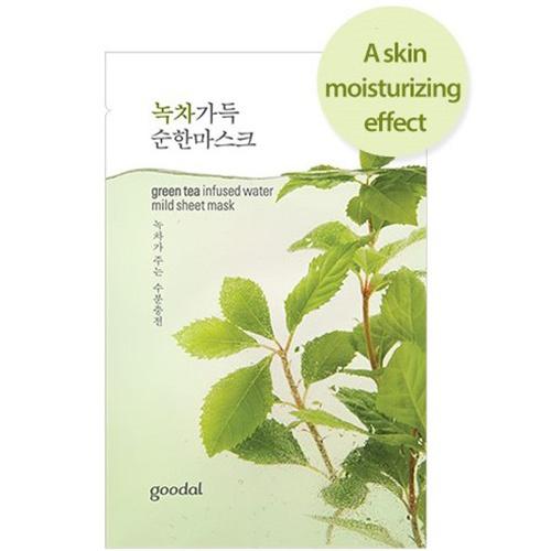 greentea infused water mild sheet mask-1